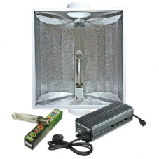 "Maxibright Digilight Pro 600w Variable Ballast with Maxibright Gold Star 6"" Reflector and Sunmaster Bulb Lighting Kit"